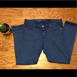 AG for Anthropologie Stevie mid-rise pants